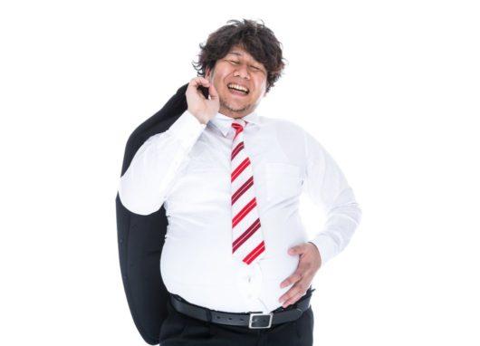 炭酸水ダイエットを始める男性