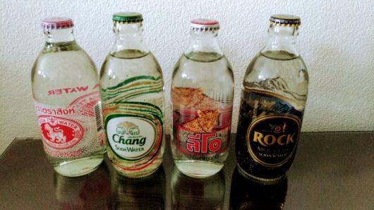 タイで売っている炭酸水ラインナップ