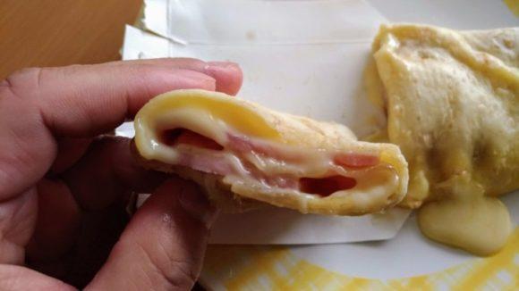ブリトー「倍盛りチーズ」