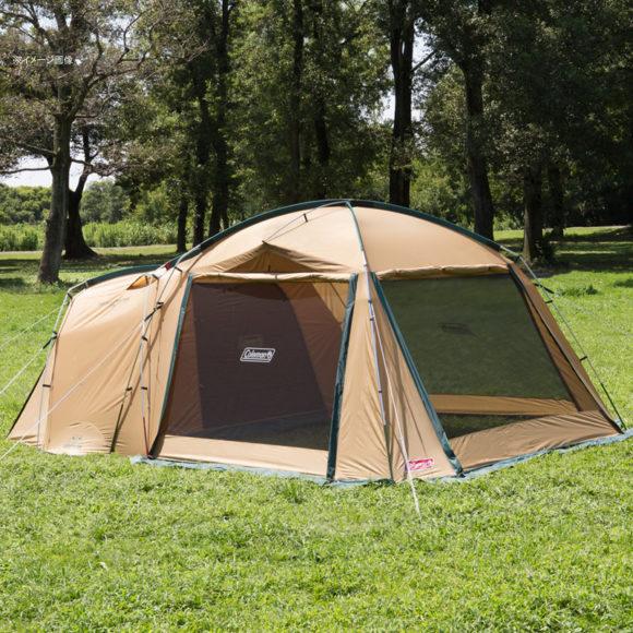 コールマンのテント(ベージュ)