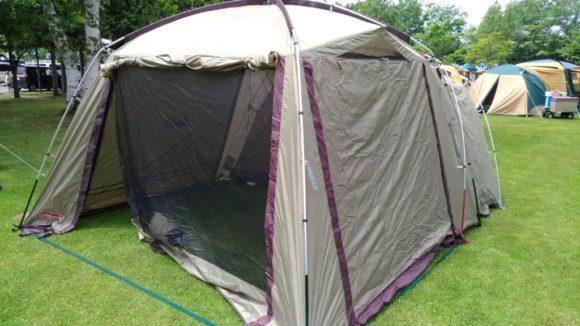 コールマンのテント(オリーブ色)