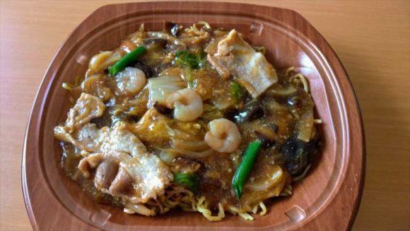 セブンイレブン麺類おすすめ⑥香ばしあんかけ焼きそば