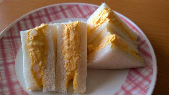 セブンイレブンサンドイッチおすすめ①濃厚たまごサンド