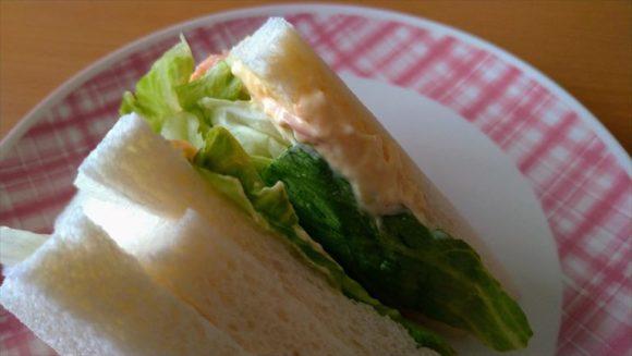 セブンイレブンサンドイッチおすすめ②シャキシャキレタス