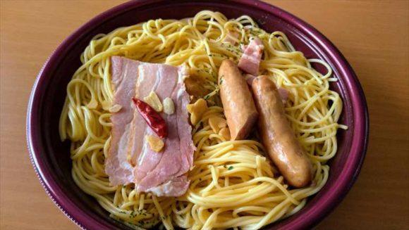 セブンイレブン麺類おすすめ④ペペロンチーノ
